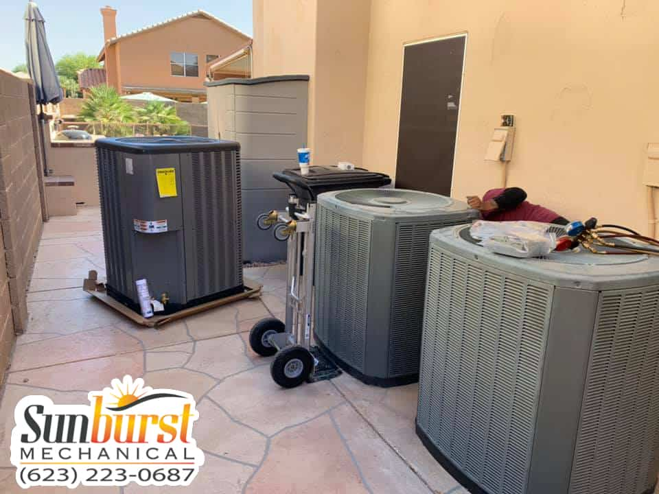 Sunburst Mechanical - Serving Phoenix and surrounding areas - Specializing in Refrigeration - Mechanical Piping - Chilled Water Systems - Boilers - HVAC - Emergency Service Available